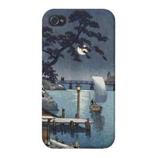 Kangetsu Bridge Shimonoseki on Early Autumn Case For iPhone 4