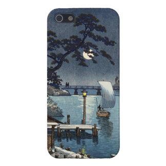 Kangetsu Bridge, Shimonoseki on Early Autumn iPhone 5 Cases