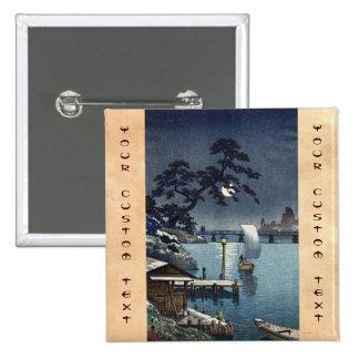 Kangetsu Bridge Shimonoseki on Early Autumn Pins