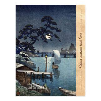 Kangetsu Bridge, Shimonoseki on Early Autumn Postcard