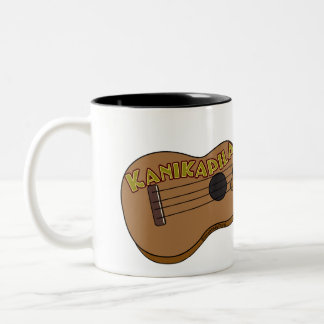 Kanikapila Ukulele (custom name) Two-Tone Coffee Mug