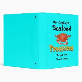kanimon, Mr. Crabby's , Seafood , Treasures, Re... Binders