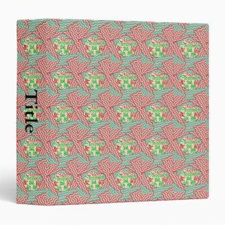 Kanji and English Vinyl Binder