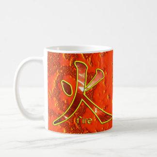 Kanji: Fire - Mug #1