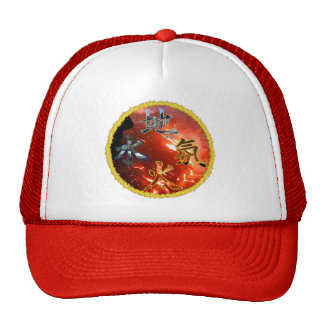 Kanji: Four Elements - Hat #1