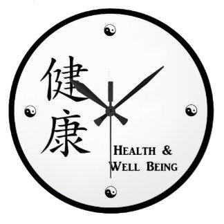 Kanji Health Clock