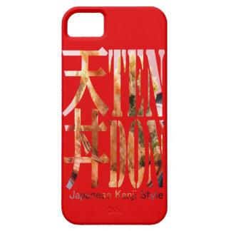 "< Kanji >Japaneese food ""TEN-DON"" Typography iPhone 5 Cases"