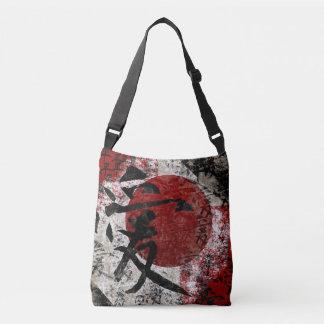 Kanji Peace Love & Hope #1 Cross Body Bag