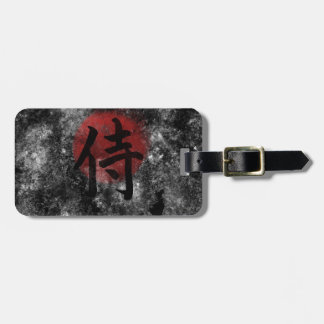 Kanji Samurai Grunge 2 Bag Tag
