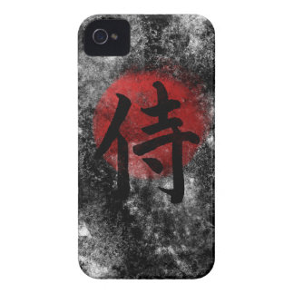 Kanji Samurai Grunge 2 Case-Mate iPhone 4 Cases