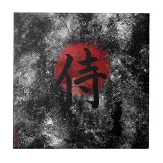 Kanji Samurai Grunge 2 Tile