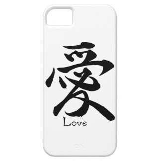 Kanji Symbol LOVE Japanese Chinese Calligraphy iPhone 5 Cover