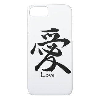 Kanji Symbol LOVE Japanese Chinese Calligraphy iPhone 7 Case