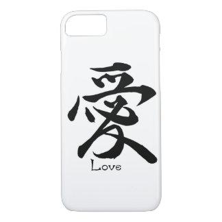 Kanji Symbol LOVE Japanese Chinese Calligraphy iPhone 8/7 Case