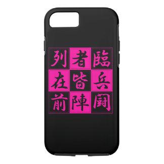 "<Kanji> Talisman ""KUJI-GosinBou "" iPhone 8/7 Case"