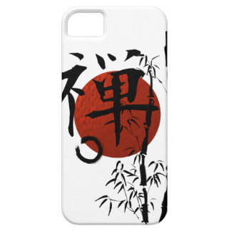 Kanji Zen with Enso and Bamboo Case For The iPhone 5