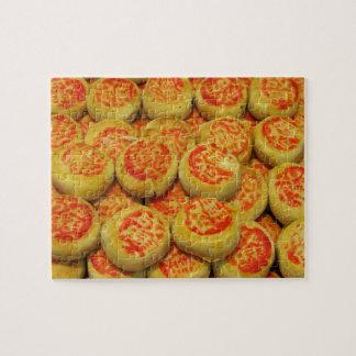 Kanom Pia ขนมเปี๊ยะ ~ Asian Sweets Desserts Food Puzzles