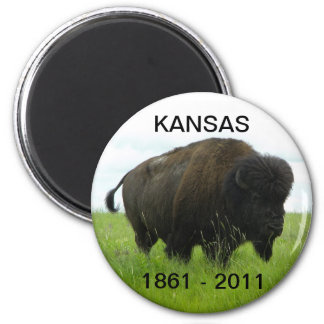 Kansas 1861 - 2011 magnet
