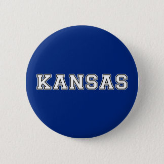 Kansas 2 Inch Round Button