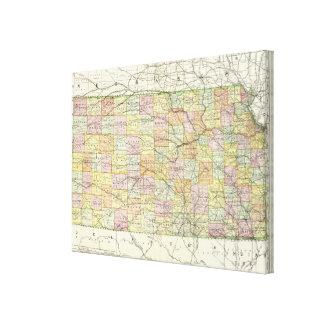 Kansas 3 stretched canvas prints