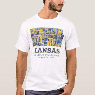 Kansas - Ad Astra Per Aspera - T-Shirt