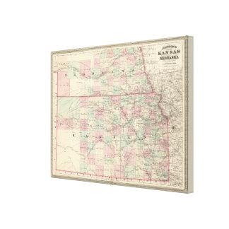 Kansas and Nebraska Canvas Print