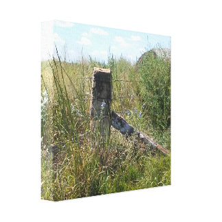 Kansas Back Roads Canvas Print