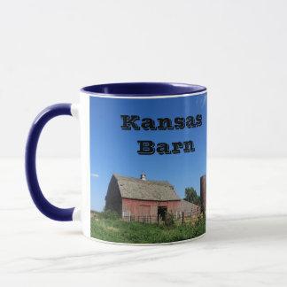 Kansas Barn and Windmill Coffee Mug!!! Mug
