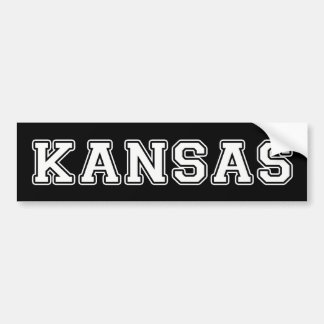 Kansas Bumper Sticker