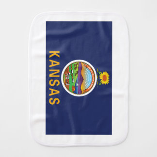 Kansas Burp Cloth