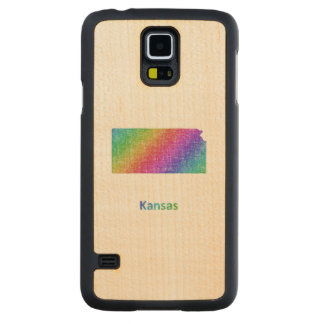 Kansas Carved Maple Galaxy S5 Case