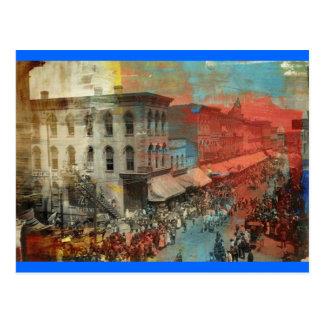 Kansas City 1886 Circus Parade Postcard