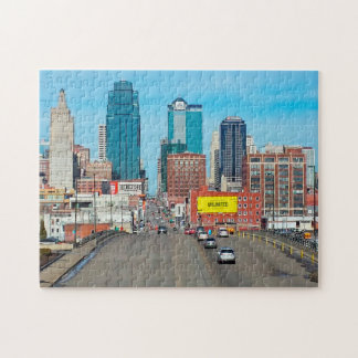 Kansas City Downtown. Jigsaw Puzzle