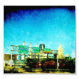 Kansas City Highway Photo Print