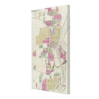 Kansas City Kansas Stretched Canvas Prints