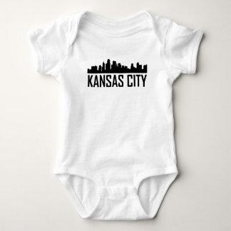 Kansas City Kansas City Skyline Baby Bodysuit
