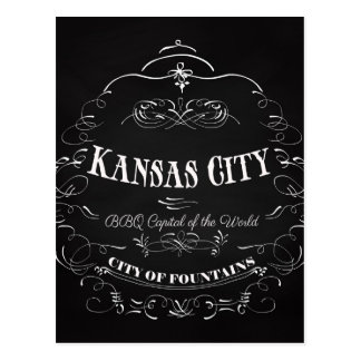 Kansas City Missouri - BBQ Capital of the World Postcard
