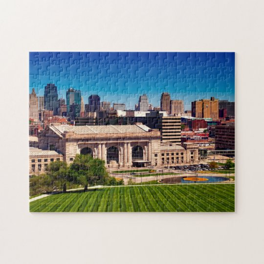 Kansas City Missouri. Jigsaw Puzzle