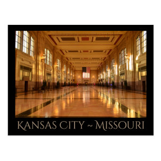 Kansas City ~ Missouri Postcard