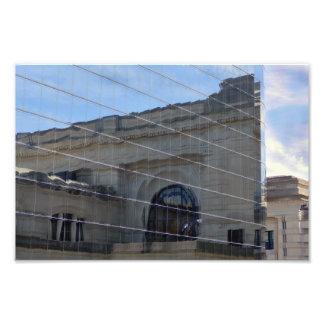 Kansas City, Missouri, Union Station Reflection Photo Print
