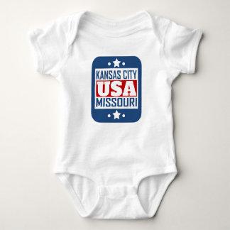 Kansas City Missouri USA Baby Bodysuit