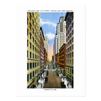 Kansas City, Missouri Vintage Greetings From Postcard