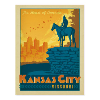 Kansas City, MO Postcard