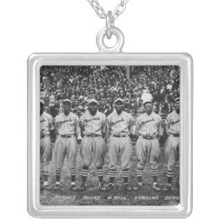 Kansas City Monarchs baseball team, 1924 Silver Plated Necklace