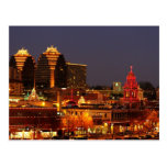 Kansas City Plaza Lights Postcard