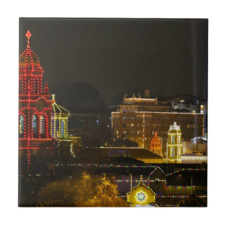 Kansas City Plaza Lights Tile