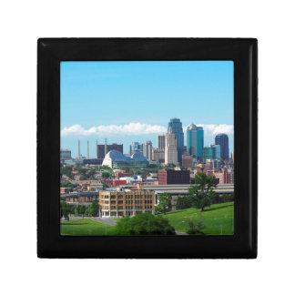 Kansas City Skyline Gift Box