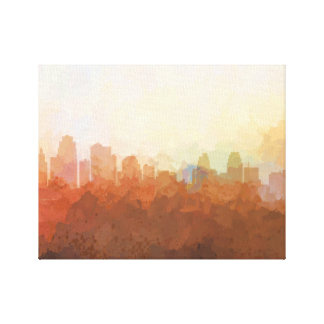 KANSAS CITY SKYLINE - In the Clouds Canvas