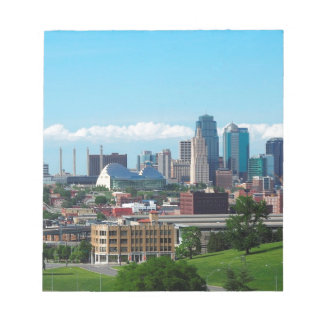 Kansas City Skyline Notepad
