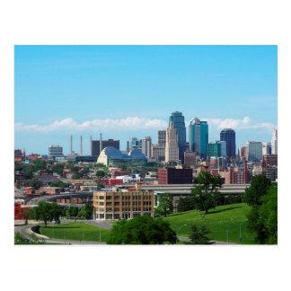 Kansas City Skyline Postcard